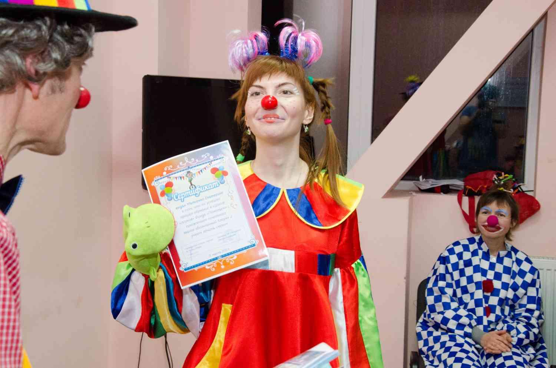 Сценарий с клоунами на выпускной